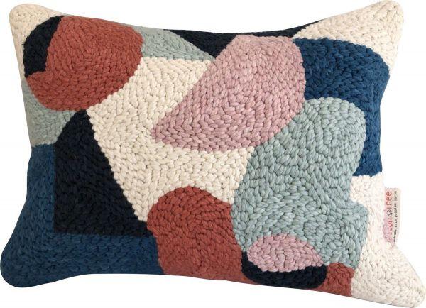 Punch Needle Cushion - Pattern 4