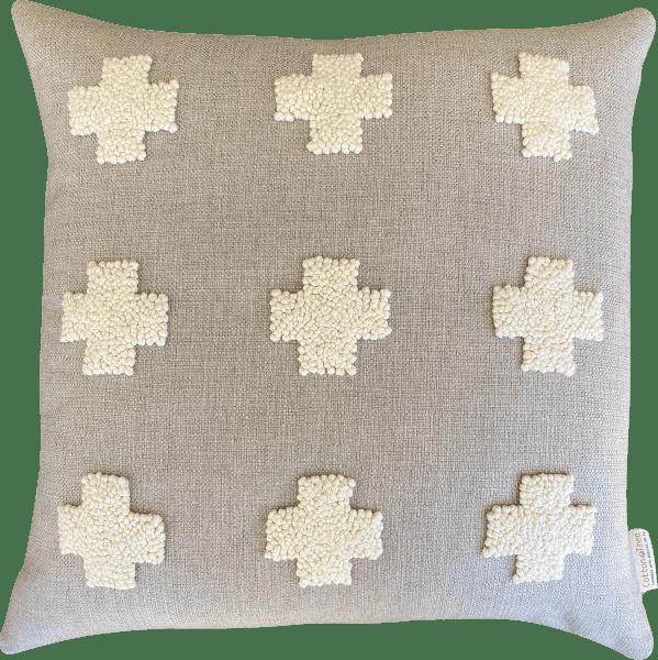 Naturals - Punch Needle Crosses (60x60)