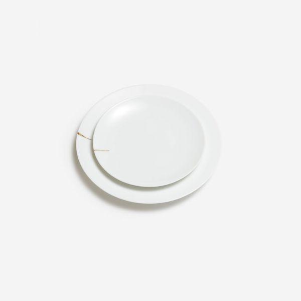 Kintsugi Charentais (Charente Kintsugi) - Dinner plate