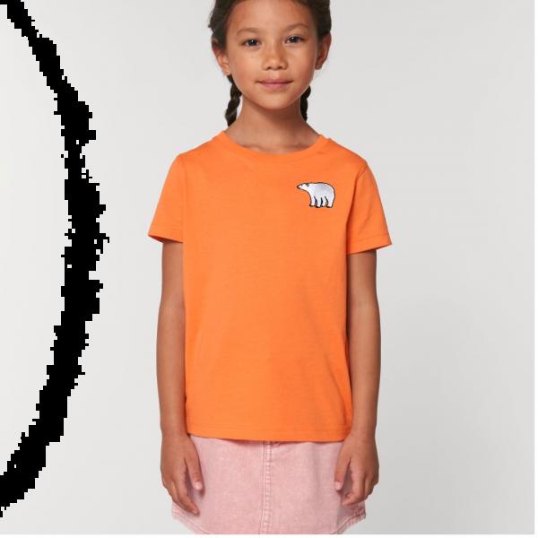 polar bear kids - unisex organic cotton t shirt Melon Code