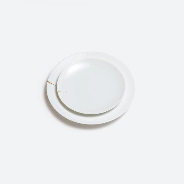 Kintsugi Charentais (Charente Kintsugi) - Serving Plate