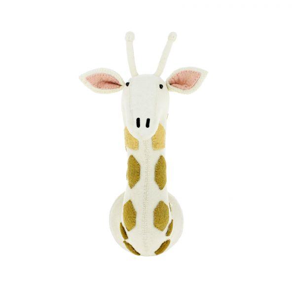 Giraffe Head with Tonal Spots