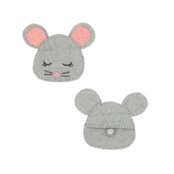 Sleepy Mouse Purse