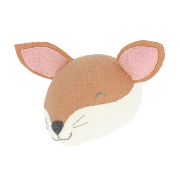 Sleepy Fox Head