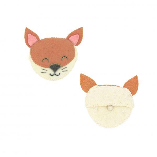Sleepy Fox Purse