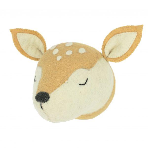 Sleepy Deer Head