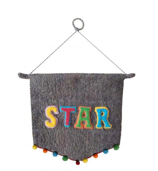STAR Wall Pennant