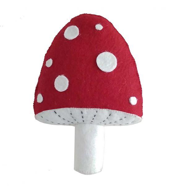 Red Wall Mushroom