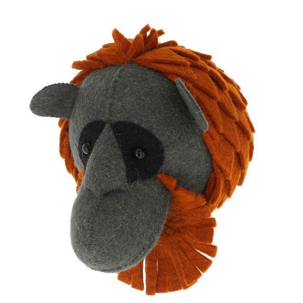 Mini Orangutan Head