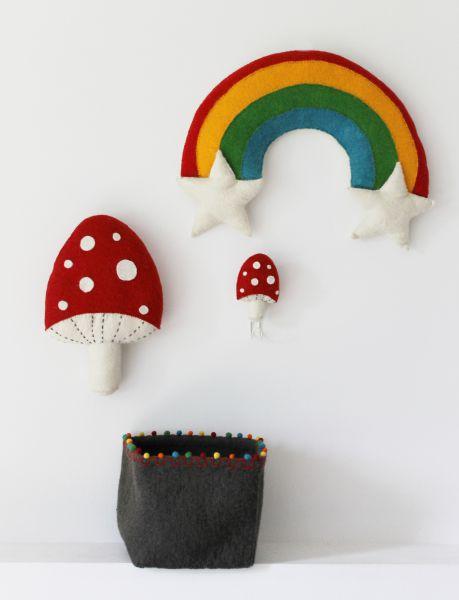 Red Mushroom Hook
