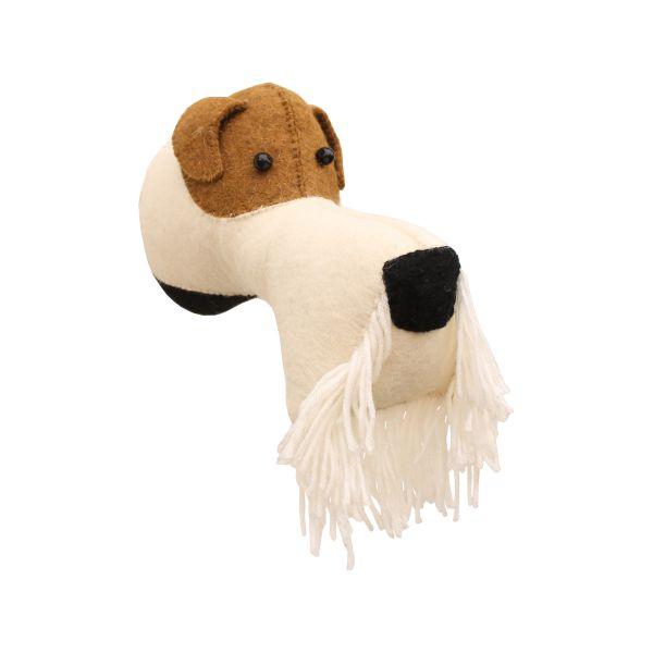 Mini Fox Terrier Head