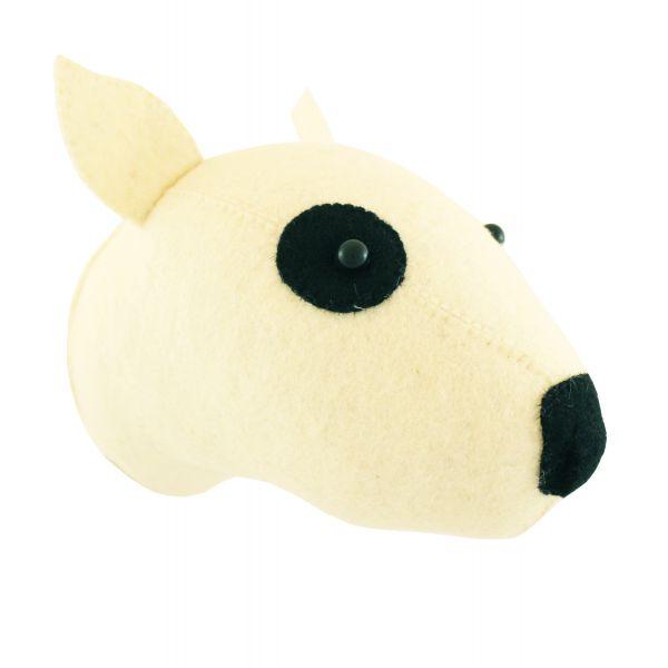 Mini Bull Terrier Head
