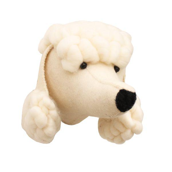 Mini Poodle Head