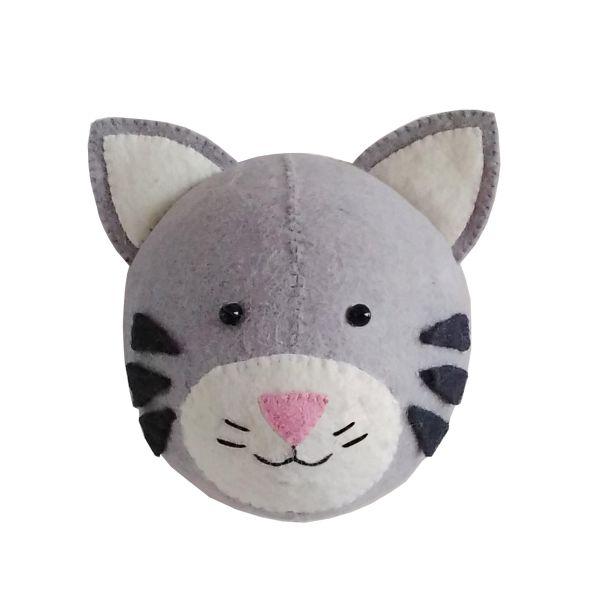 Mini Tabby Cat Head