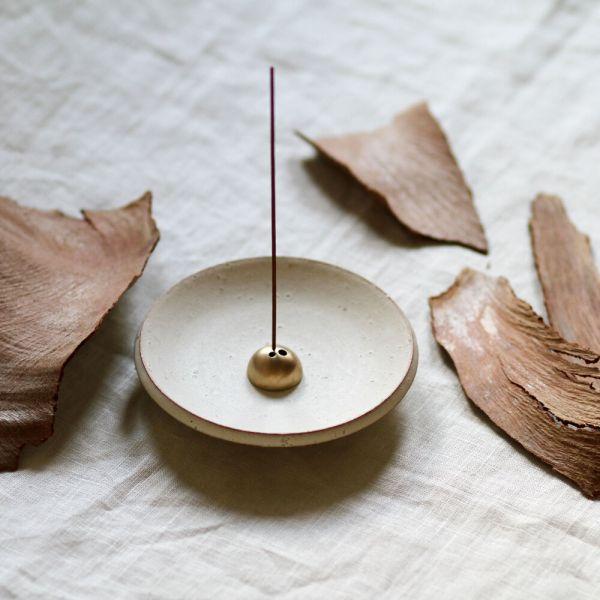 White Onyx Incense Dish