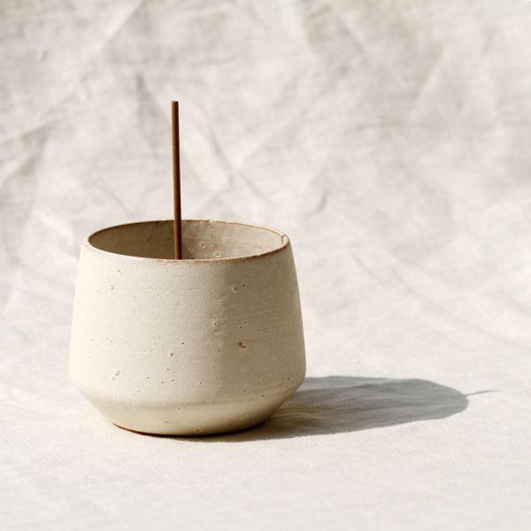 White Onyx Incense Bowl