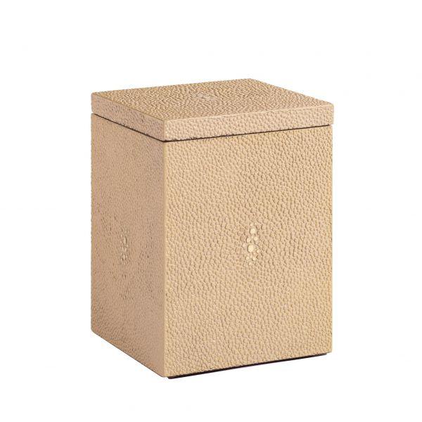 Chelsea Cotton Wool Box Shagreen Natural