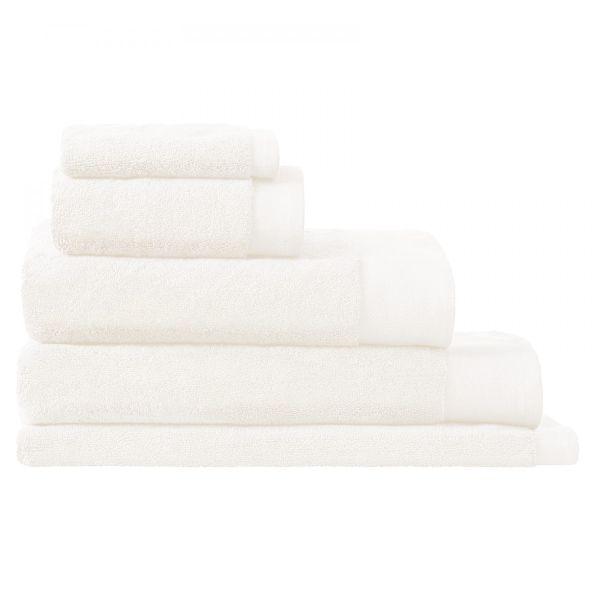 LUXURY RETREAT TOWEL HAND TOWEL - WHITE