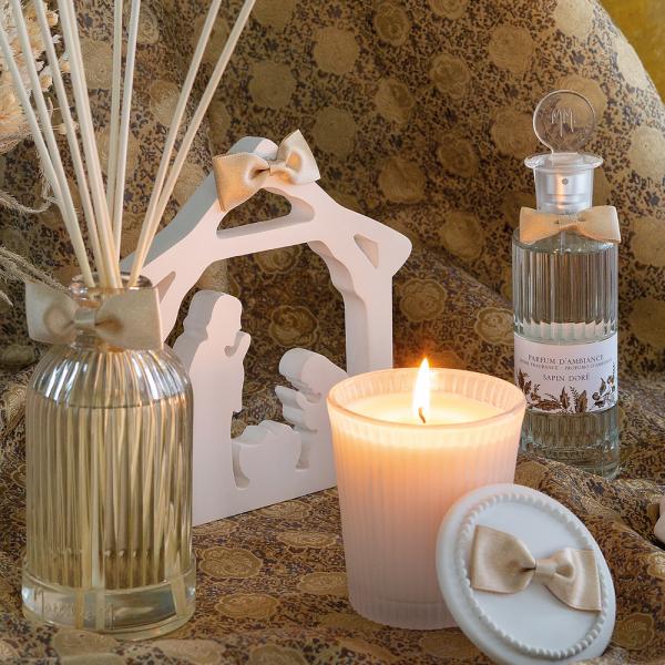 Christmas Crib fragranced - Sapin Doré