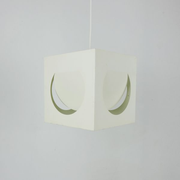 Mid-Century Finnish Geometric Pendant Lamp by Shogo Suzuki for Stockmann-Orno, 1960s