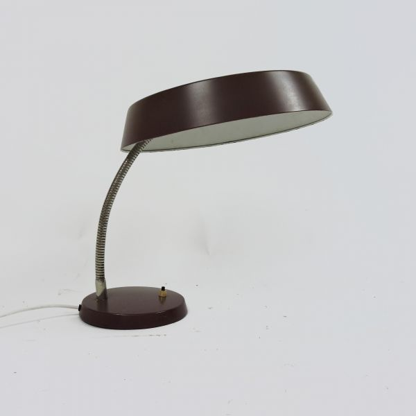 Mid-Century Brown Desk Lamp