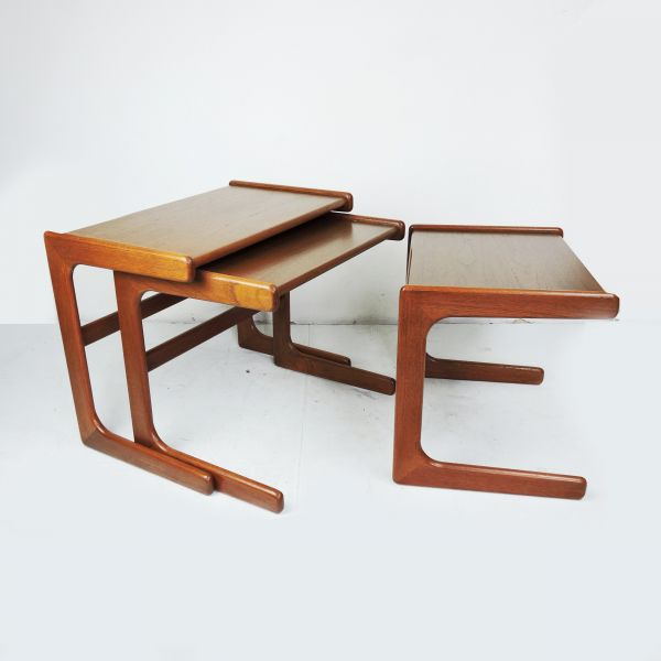 Danish Modern Nesting Tables by Salin Nyborg, 1960s