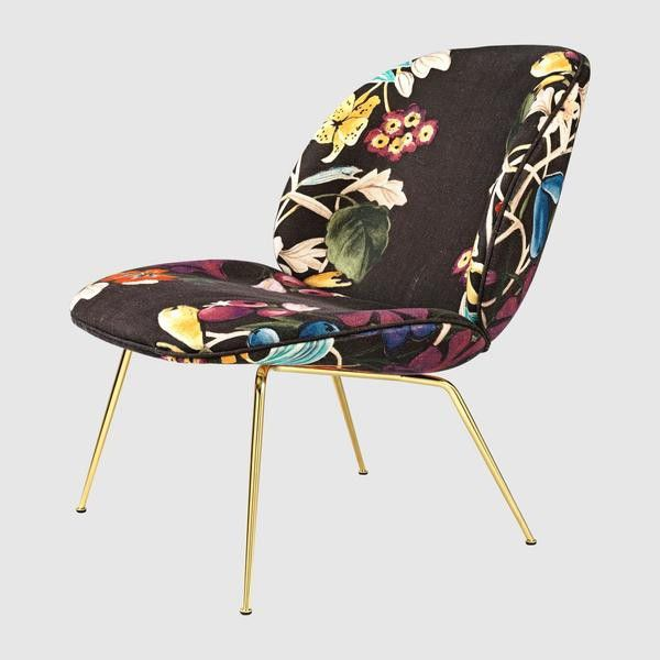 Beetle Lounge Chair - Fully Upholstered, Conic base
