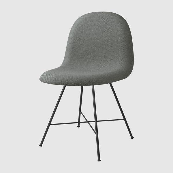 3D Dining Chair, Upholstered - Center base