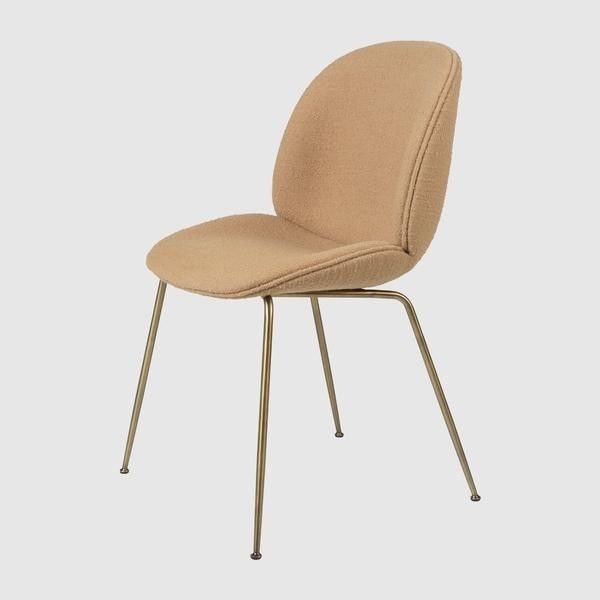 Beetle Chair - Upholstered, Metal base