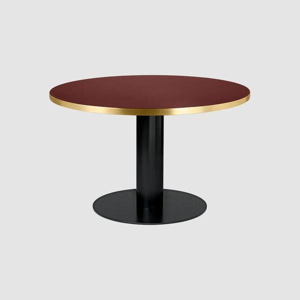 GUBI 2.0 Dining Table - Round, 125cm diameter