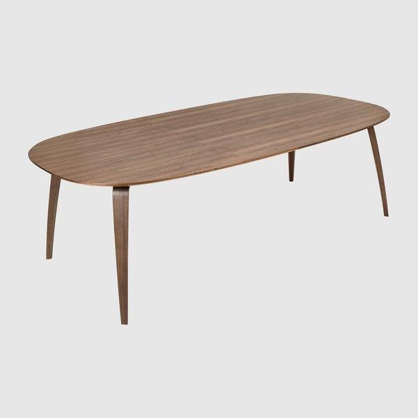 GUBI Dining Table - Elliptical, 120x230