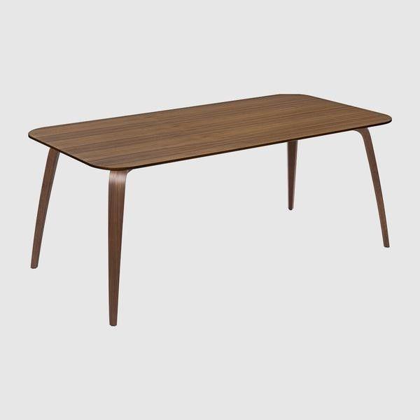 GUBI Dining Table - Rectangular, 180x90