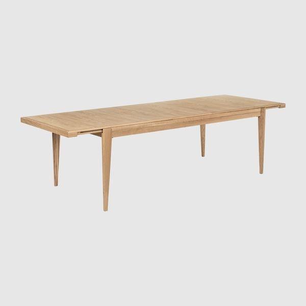 S-Table, Rectangular Extendable, 95 x 220-320