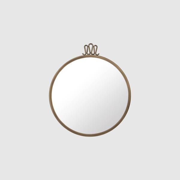 Randaccio Wall Mirror - Round, 42cm diameter