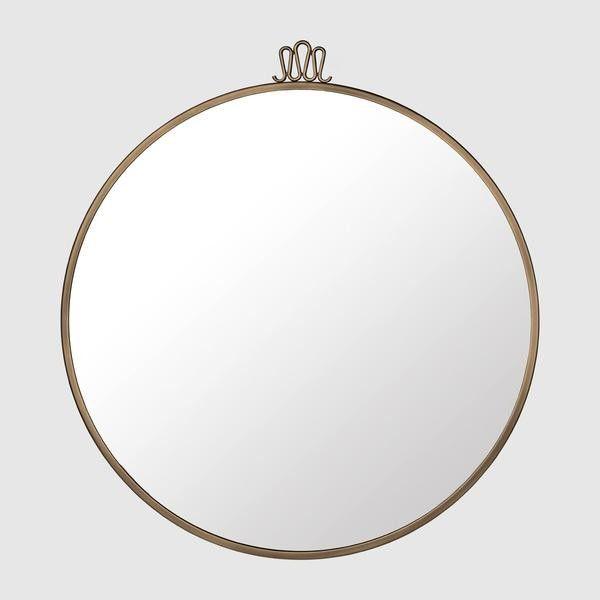 Randaccio Wall Mirror - Round, 70cm diameter