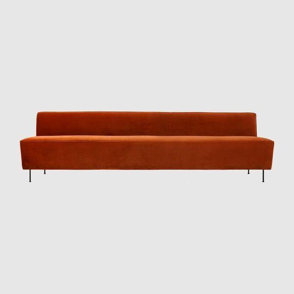 Modern Line Sofa - Dining Height - (H 74 x W 280 x D 71 cm)
