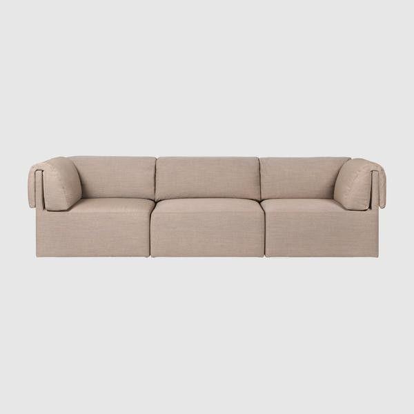 Wonder Sofa - 3-seater with armrest