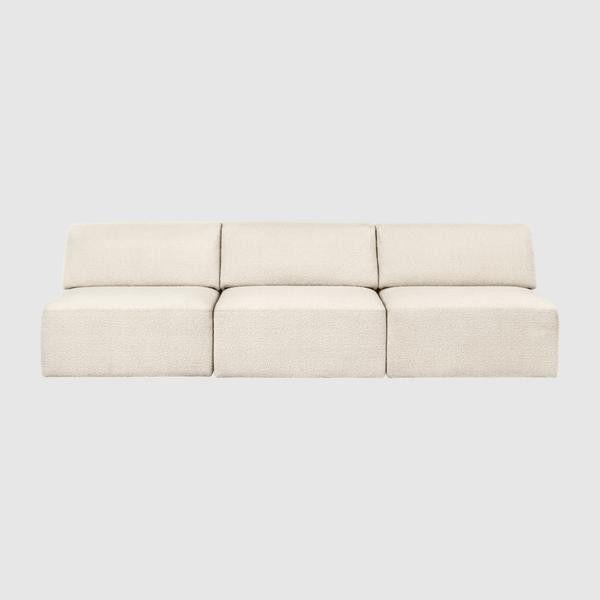 Wonder Sofa - 3-seater without armrest