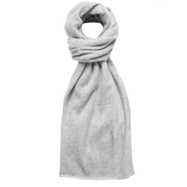 Cashmere Lofty Blanket Scarf in Foggy