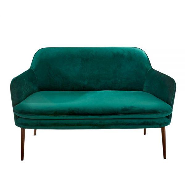 Sofa Charmy velvet green