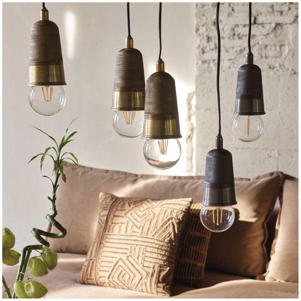 Hanging lamp MALONE graphite
