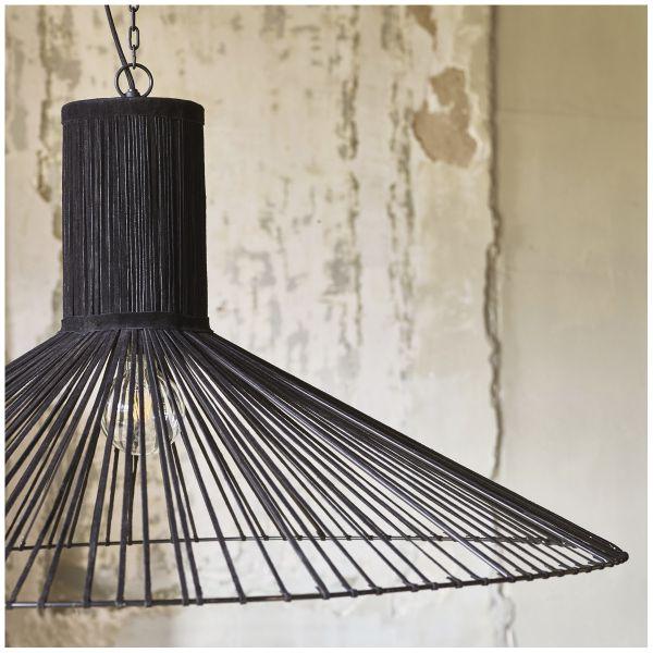 Hanging lamp MABEL black