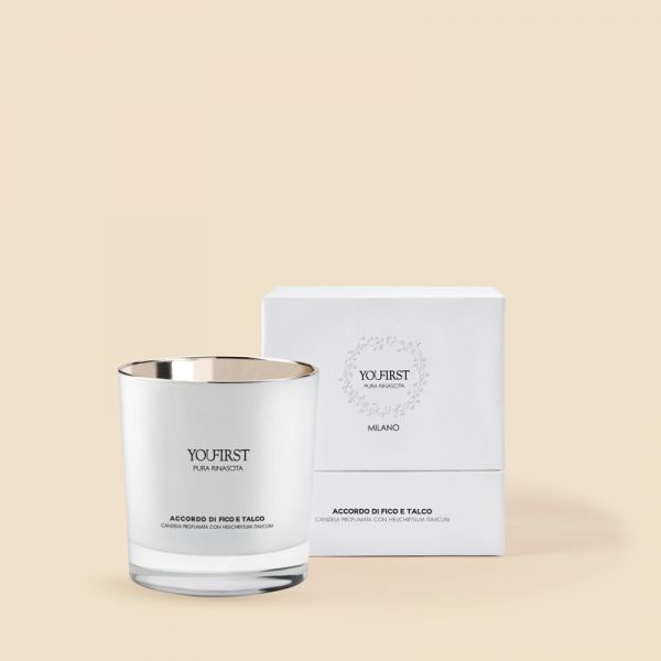 SCENTED CANDLE FIG POUDRE