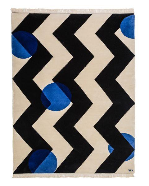 Chery Tree Blue Carpet