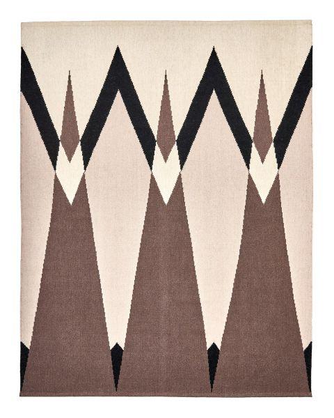 Coming Through Brown Carpet