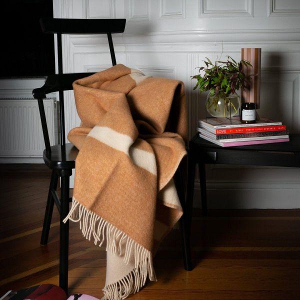 Pure New Wool Throw | River Ochre