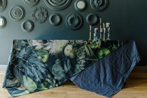 Tablecloth - Moody Green