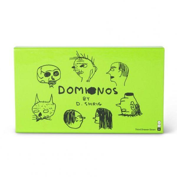 Illustrated Domino Set Gift Box by David Shrigley x Third Drawer Down
