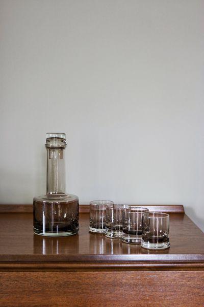 DECANTER & GLASS SET - VINTAGE decanter I am Nomad