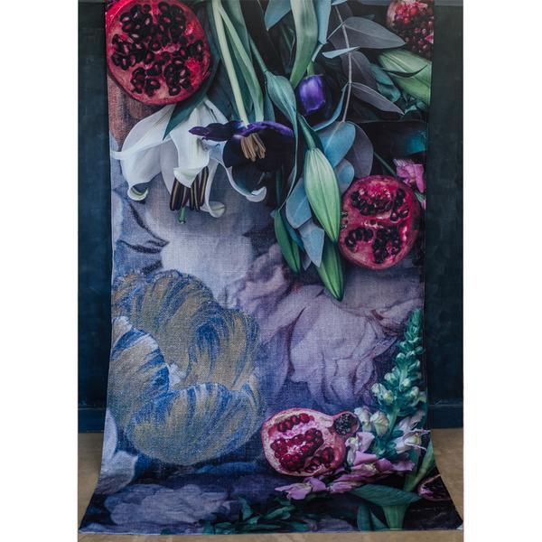 Tablecloth - Pomegranate and Flower